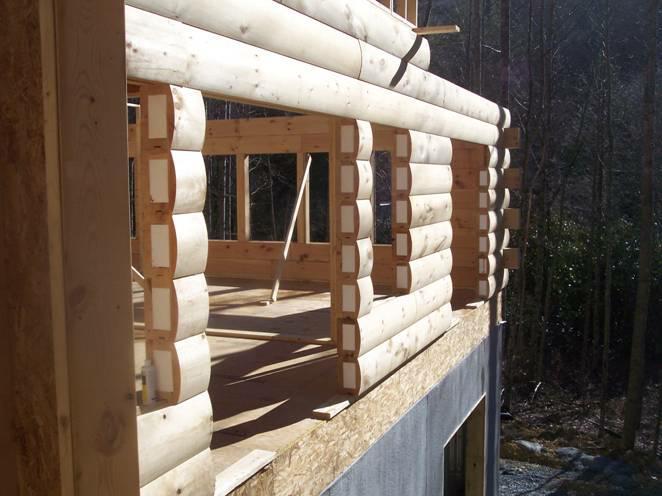 Insulated Log Homes Saratoga Log Homes